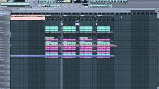 Hardwell & Joey Dale - Arcadia (Thomas Newson Remix) FL Studio Remake FLP
