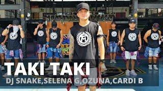 TAKI TAKI by Dj Snake,Selena G,Ozuna,Cardi B. | Zumba | Reggaeton | Kramer Pastrana