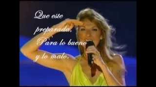 I'm Alive - Celine Dion Subtitulado en español LIVE