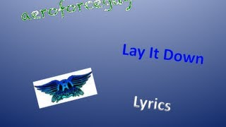 Aerosmith - Lay It Down - Lyrics