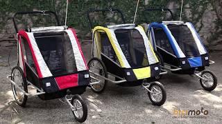 Bike Trailer até duas crianças e bebês da Bicimoto