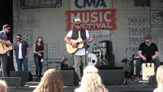 Mitchell Tenpenny - I Love - CMA Fest 2015