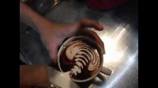 Barista Eric Kribo Black Canyon Coffee Mega mall Batam Centre