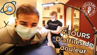 Je me fais tatouer 4 jours d'affilé !! - FNG#4
