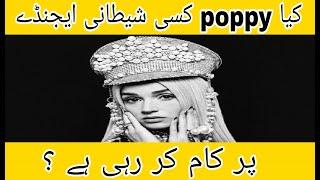 Who is poppy? | Is poppy an illuminati Member | کیا پوپی کسی شیطانی ایجنڈے پر کام کر رہی ہے