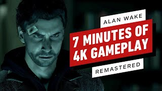 Alan Wake Remastered Gameplay Is Looking Fire in 4K