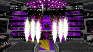 WWE Carmella`s Birthday Pyro Celebration Animation