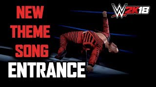 WWE 2K18: Shinsuke Nakamura Entrance with New Theme Song