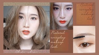超簡單!日雜混血感小心機妝容 ::Natural Everyday Makeup Look