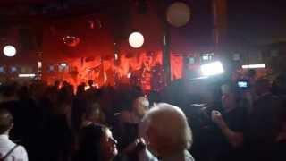 Flashmob Jazz Band at Spiegeltent Bristol 2015