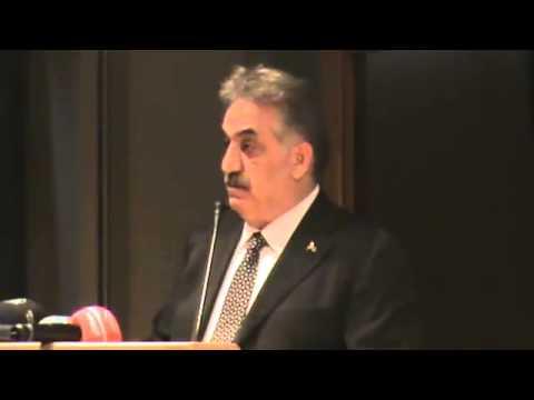 Gümrük ve Tekel Bakanı Sayın; Hayati Yazıcı'nın vergi Kongresi Konuşması (3)