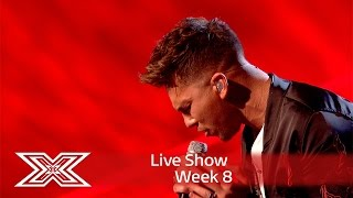 He's Alive! Matt Terry wows with Sia cover! | Live Shows Week 8 | The X Factor UK 2016