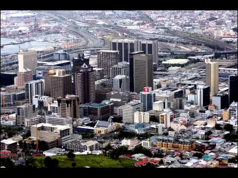 Scenes from Cape Town, South Africa