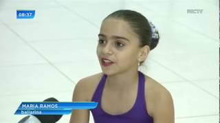 Menina de 10 anos recebe convite para dançar ballet nos EUA