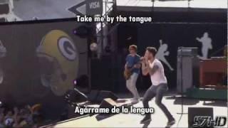 Maroon 5 - Moves Like Jagger HD Live @ NFL Kickoff Subtitulado Español English Lyrics