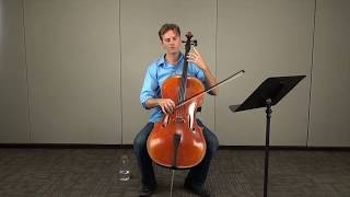 Orchestra Tutor - TMEA Cello Popper Etude 17, Tutorial Section 6