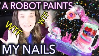 A Robot Paints my Nails because technology width=