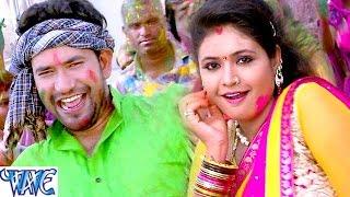 रंगे दs जोबनवा - Aawa Ae Amarpali Nirahua Rang Dali - Dinesh Lal - Bhojpuri Holi Songs 2016 width=