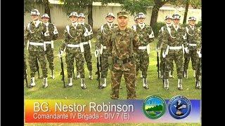 Saludo del Comandante de la Séptima División a los colombianos, Ejército Nacional de Colombia