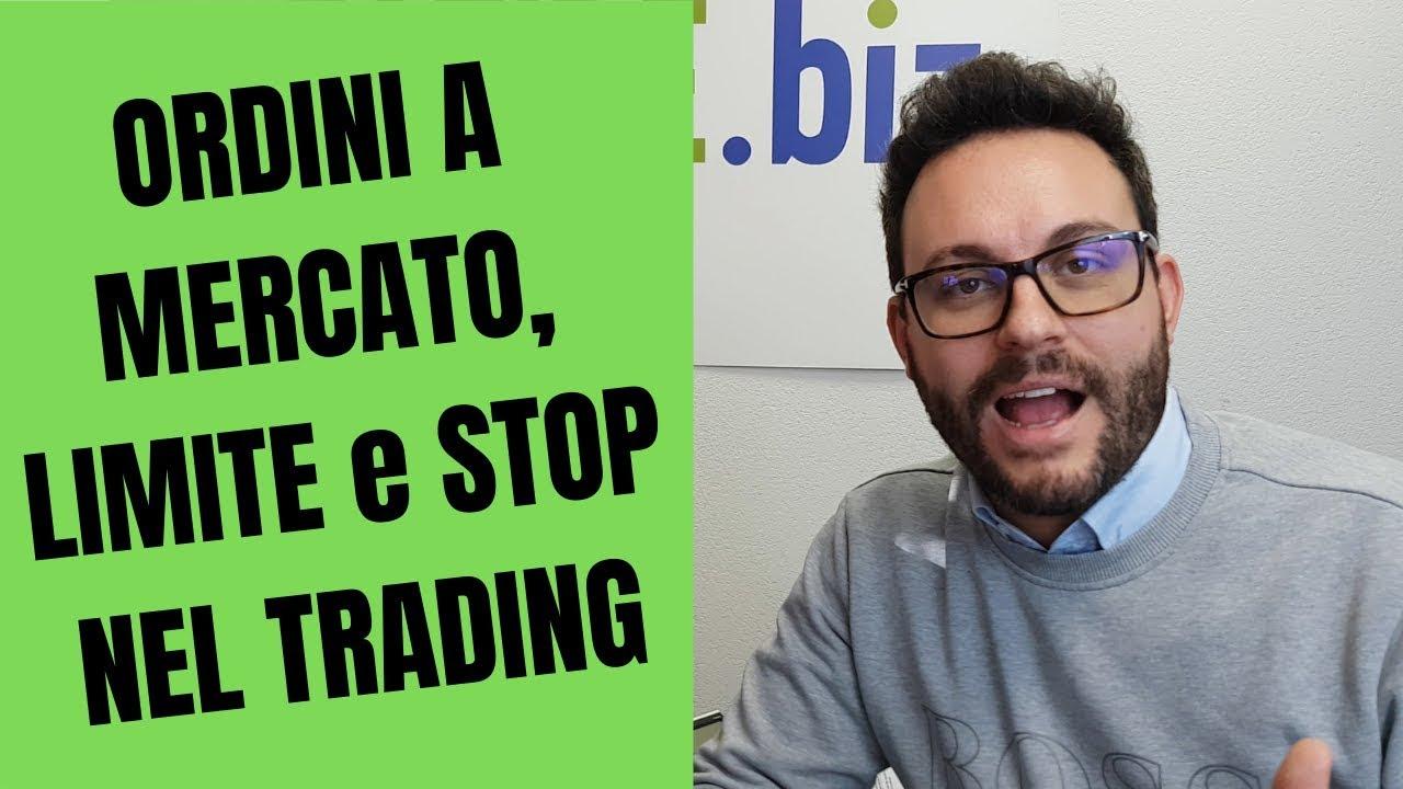 I diversi tipi di ordine nel Trading Online