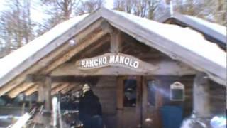 Chapelco 2010. Desde el Rancho de Manolo.