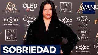 [GOYA 2019] Rosalía sorprende por su sobriedad en la alfombra roja