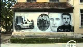 Grafite retrata história de São José dos Campos no Vicentina Aranha