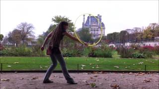 Ratatat - Cream on Chrome - Hula Hoop Dance - Flow Arts