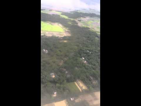 Biman landing in Sylhet,Bangladesh