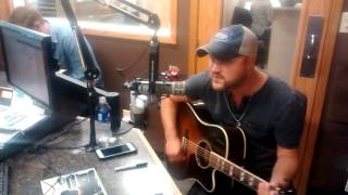 Lonely Drum - Aaron Goodvin Live in the KBOE Studios
