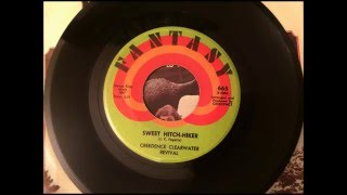 Sweet Hitch-Hiker , Creedence Clearwater Revival , 1971 Vinyl 45RPM