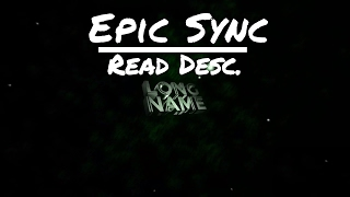 [Panzoid] Epic Sync 3D intro | NO TEMPLATE [ READ DESC]