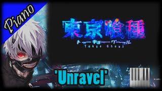 Tokyo Ghoul OP - 'Unravel' [Piano Cover] (東京喰種-トーキョーグール-, ピアノ Ver.) (Animenz Sheet)