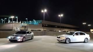 2005 Pontiac Gto & 2011 Bmw 328i (e90) video // Midnight shoot //