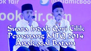 SUARA INDAH QORI CILIK ASAL BATAM PEMENANG MTQ 2014