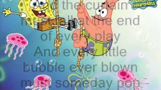 Spongebob Squarepants: The Bubble Song(Lyrics)