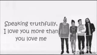 DNCE - Truthfully (lyrics)