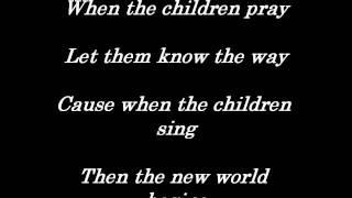 Seventh Day Slumber - When The Children Cry [Lyrics]