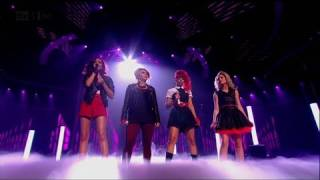 Little Mix do a Beyonce - The X Factor 2011 Live Semi-Final - itv.com/xfactor