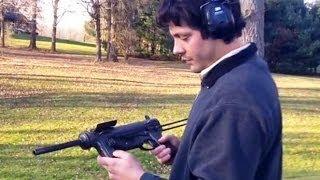 U.S. M3 Submachine Grease Gun Backyard Shooting with Ohio Outdoor Journal