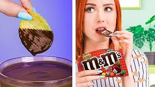Try Not To Eat Challenge! 11 Funny Edible Pranks!