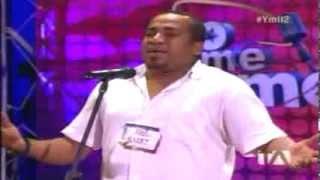Joe Arroyo - Casting Yo me llamo Ecuador 2da temporada