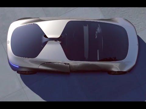 Mercedes tự lái trong thế giới thực của tương lai