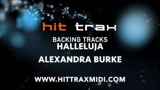 Hallelujah (in the style of) Alexandra Burke (MIDI Instrumental karaoke backing track)