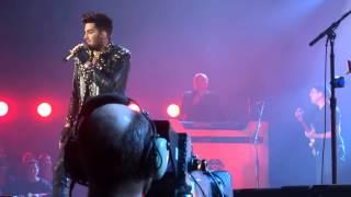 Queen + Adam Lambert Krakow  21/02/2105 another one bites the dust