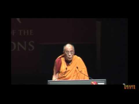 The Dalai Lama addresses Parliament of World Religions 2009