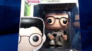 Funko Pop! Movies #106 Dr. Egon Spengler Ghostbusters Vinyl Figure Unboxing & Review