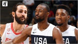 USA vs Spain - Full Game  Highlights - August 16, 2019 | USA Basketball