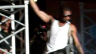 usher at reggae sumfest jamaica 2010