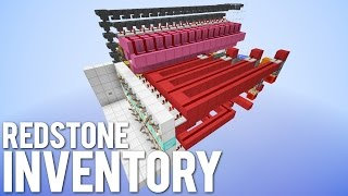 TOO SMALL: Redstone Inventory System